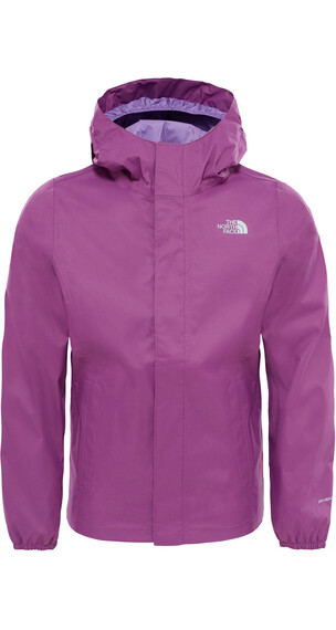 The North Face Kids Resolve Waterproof Reflective Jacket Wood Vlt